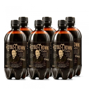 Royal Crown Cola Classic six Pack  0,5 l PET